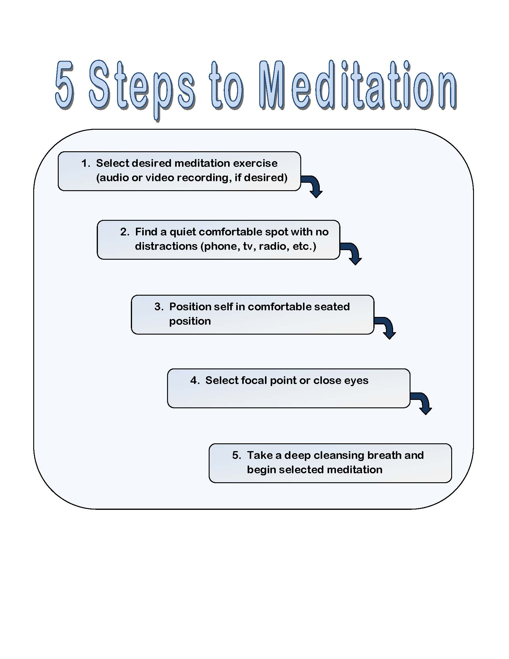photo How to Manage Student Stress with Meditation